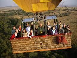 Balloon safari.