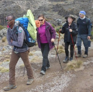 ANAPA Travel Co Guided Kili climbing.