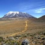 Kilimanjaro route.