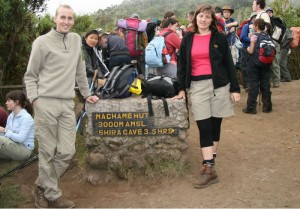 Kili Machame photo.