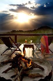 Safari sun set.