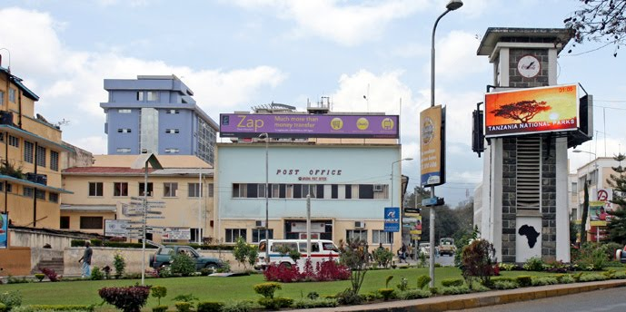 clock tower round about arusha