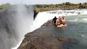 Zimbabwe waterfalls Lodge safari